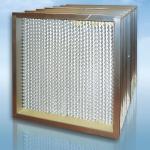 ФВА-алс: фильтр воздушный абсолютной очистки с алюминиевым сепаратором
